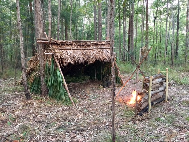 natural shelter building