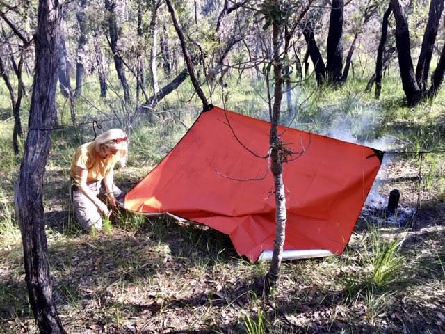 Bushcraft Survival Australia - Emergency Shelter